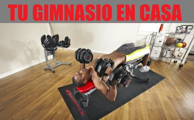 Tu gimnasio doméstico: cómo equiparlo y montarlo en un