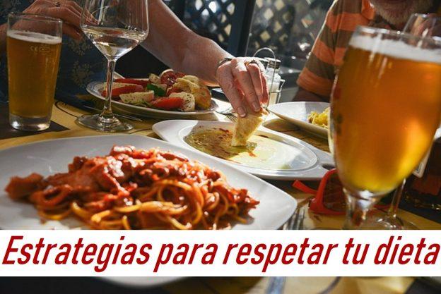 Cómo respetar la dieta cuando comes fuera