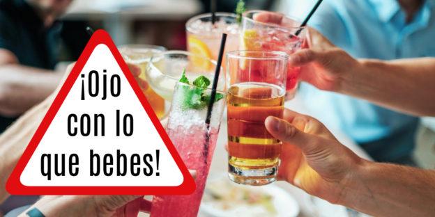 Bebidas a evitar