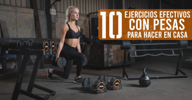 10 ejercicios con pesas